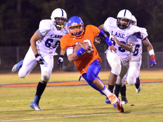 Delmar's Shane Leatherbury provides a triple threat as a quarterback, defensive back and kick returner. Before playing for the Wildcats, he attended games when his brothers played for the varsity squad.