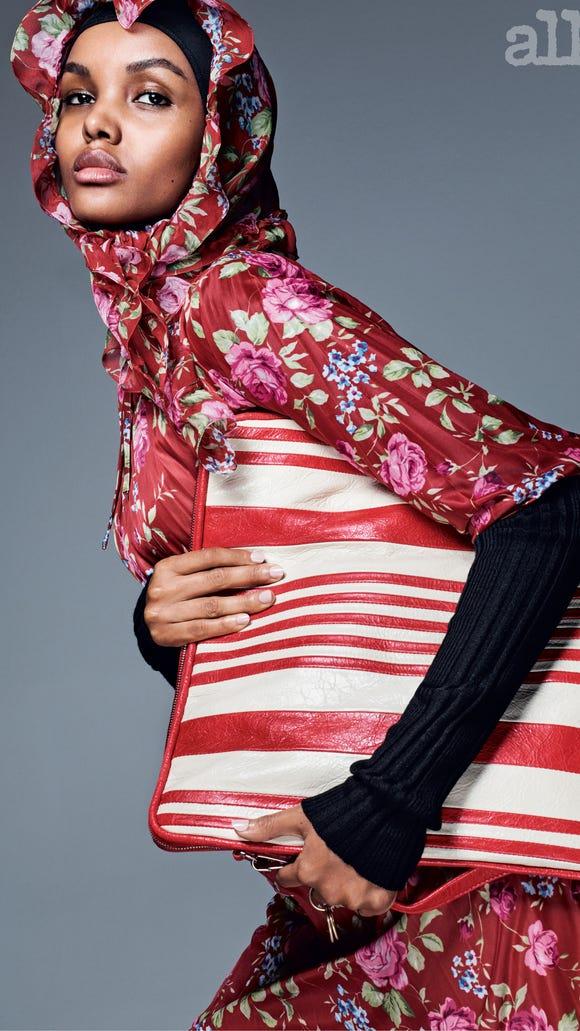 Muslim model Halima Aden.