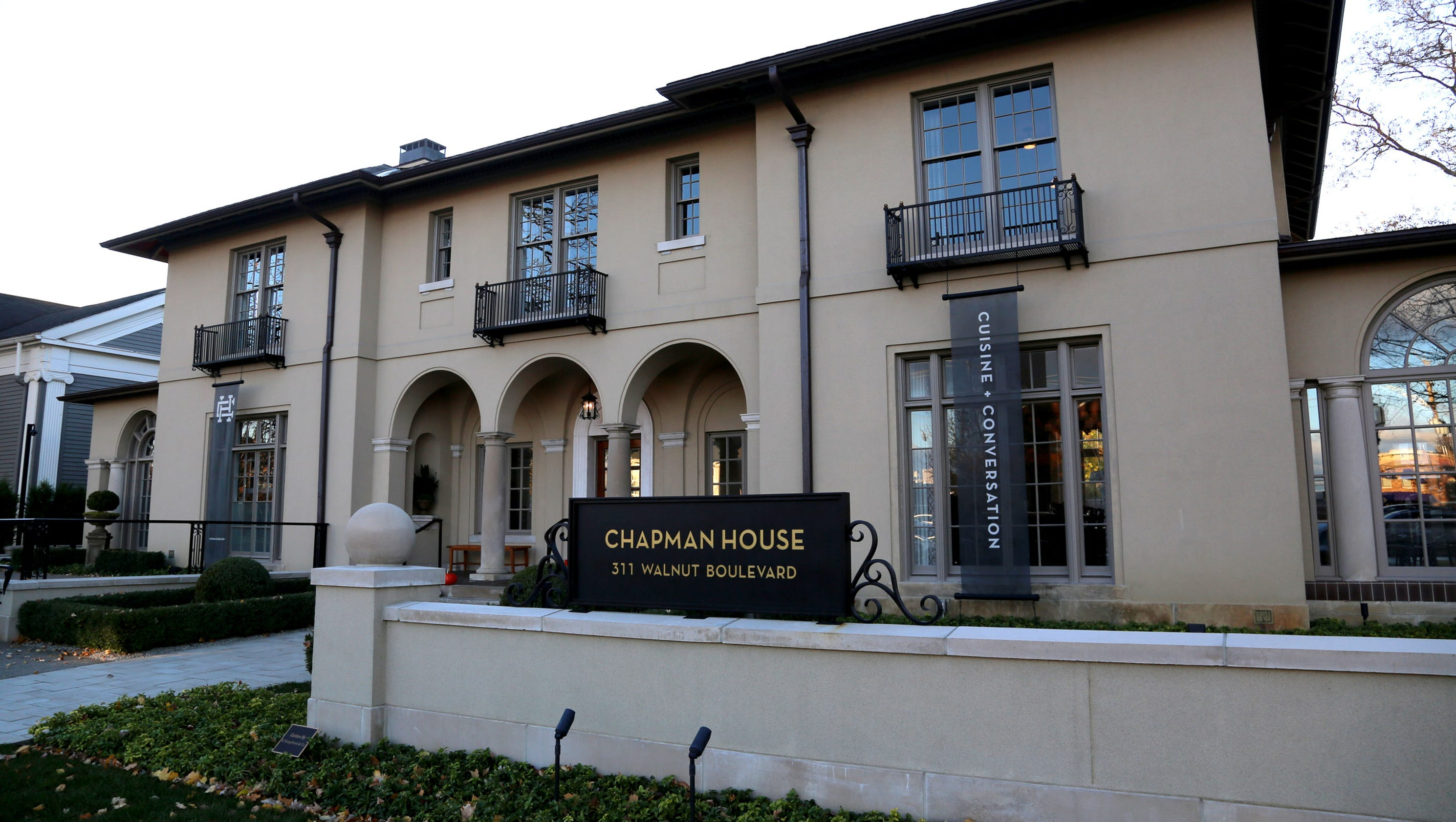 Rochester 39 s chapman house suspends restaurant service for Chapman house