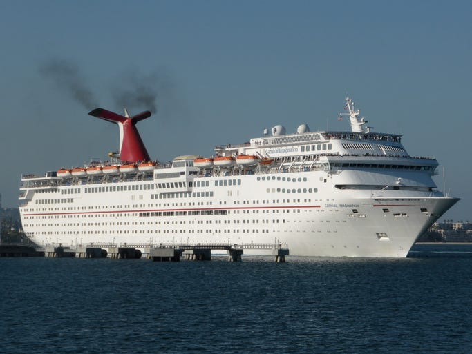 Carnival Cruises' 70,367 gt, 855-by-103-foot, 2,052-guest Carnival Imagination is currently home-ported in Long Beach, CA, offering three and four night cruises to Ensenada, Mexico and Catalina Island.
