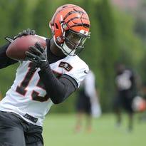 Paul Daugherty: Cincinnati Bengals WR John Ross learning to be a pro from Houshmandzadeh