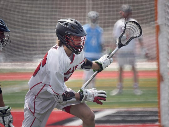 Northern Highlands # 25 Charles Ratner Boys lacrosse: