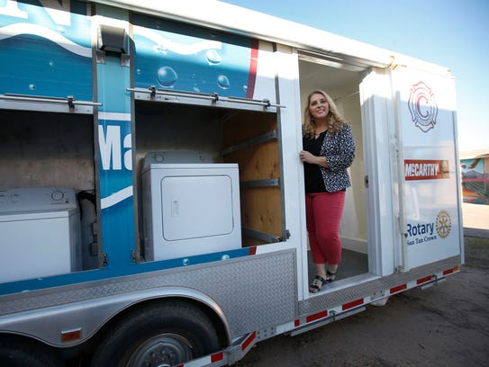 Chandler Clean Machine Mobile Shower For Homeless