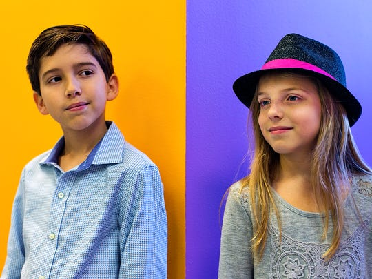 Kadan, left, and Brooklyn Rockett are a brother and