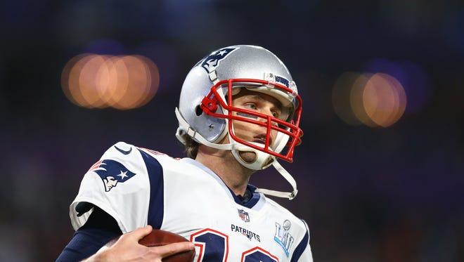 36. QB Tom Brady NE