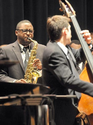 """The MSU Jazz Orchestra performs as part of the """"Jazz: Spirituals, Prayer and Protest,"""" concert commemoration to Rev. Martin Luther King Jr. in 2014. This year's program will be on Sunday, Jan. 14, at 3 and 7 p.m."""
