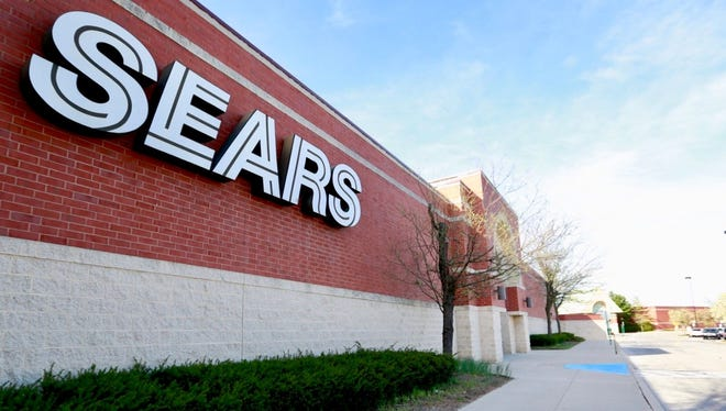 The Sears store at the York Galleria will close in August, the Sears Holding Co. announced Thursday, April 26. Dawn J. Sagert photo