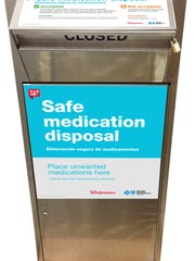 Safe medication disposal at Walgreens