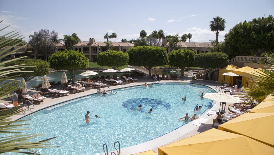 Pool and great amenities at The Phoenician in Scottsdale,