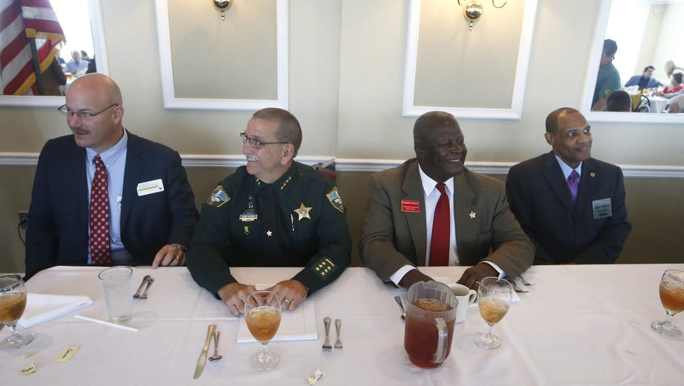 Candidates for Leon County sheriff, from left: Charlie