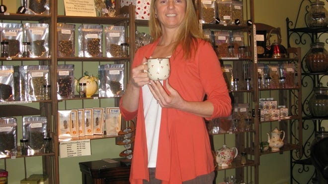 """Cynthia Evans is the owner of the Tea and Wellness Shop that specializes in (what she proudly calls) """"Palate Pleasing Premium Organic Teas."""""""