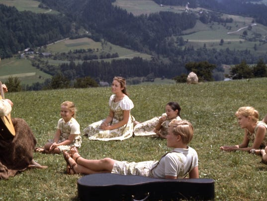 The hills are alive as 'The Sound of Music' movie celebrates its 50th anniversary