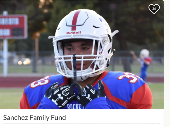 Moon Valley Parent boosters set up a GoFundMe page to help Carlos Sanchez's family after his death.
