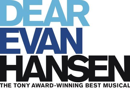 """""""Dear Evan Hansen"""" runs from Nov. 27-Dec. 2, 2018,"""