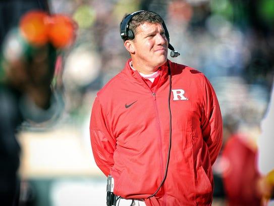 Rutgers head coach Chris Ash enters his second season,