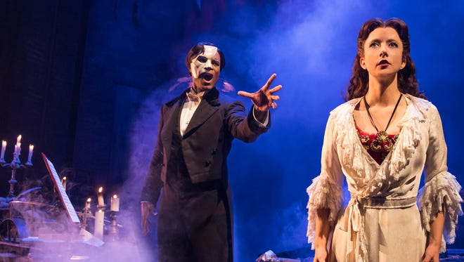 "Andrew Lloyd Webber's ""The Phantom of the Opera"" begins its 15-show, 12-day run at Downtown's Plaza Theatre on Wednesday."