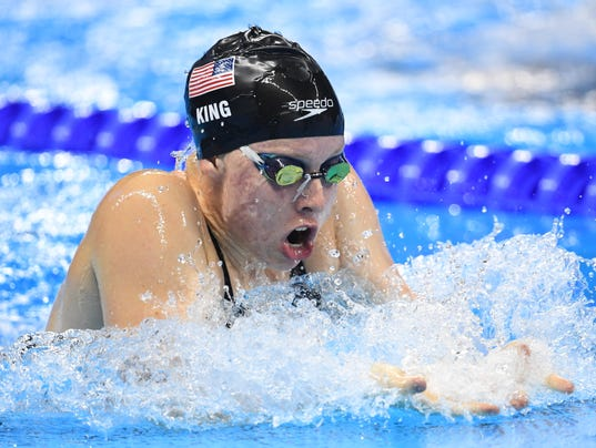 Usa wins gold in women 39 s 4x100 medley relay for milestone medal - Olympic swimming breaststroke ...