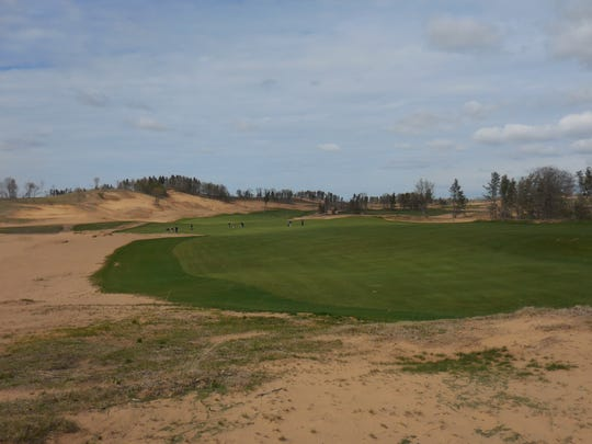 Developer  Mike Keiser may build up to four other resort courses around Sand Valley.