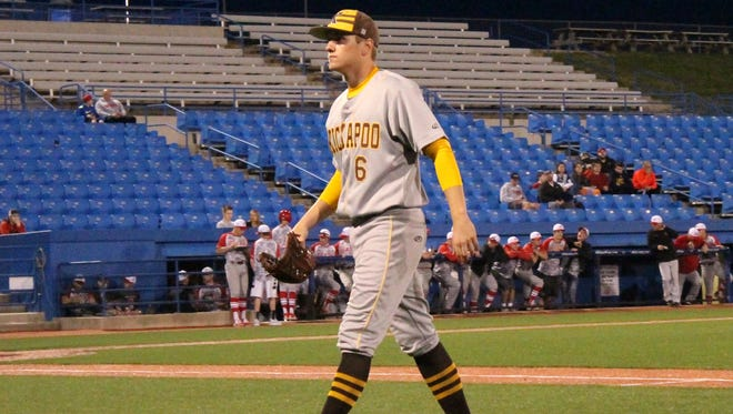 Kickapoo senior pitcher Adam Link will be among the players in action for the No. 4-ranked Chiefs April 14-15 at U.S. Baseball Park in Ozark at the inaugural Tyler Phipps Festival.