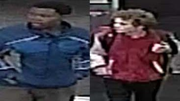 Warren Police are searching for two men suspected in the theft of $2,500 worth of cologne from a drug store.