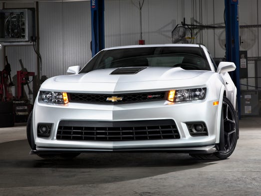 Chevy says the 2014 Chevrolet Camaro Z/28 is the most track-capable production Camaro it has ever produced.