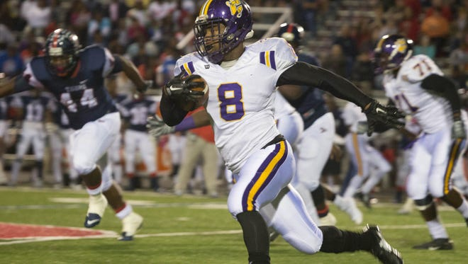 Columbus' Kylin Hill is one of the best running backs in the state.