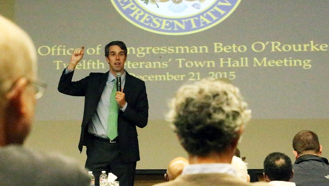 Bills by U.S. Rep. Beto O'Rourke, D-El Paso, to improve health care for veterans were approved unanimously with bipartisan support.