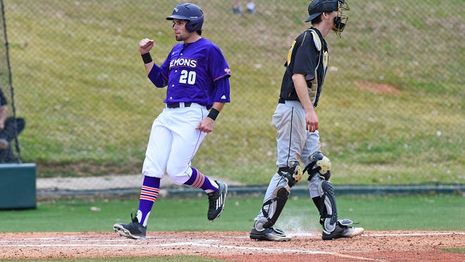Matthew Alford had two hits and three RBIs against Texas A&M on Tuesday.