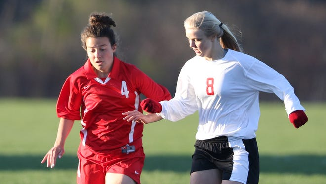 Wisconsin Rapids' Katie Kiiskila (4) during a recent Wisconsin Valley Conference game.