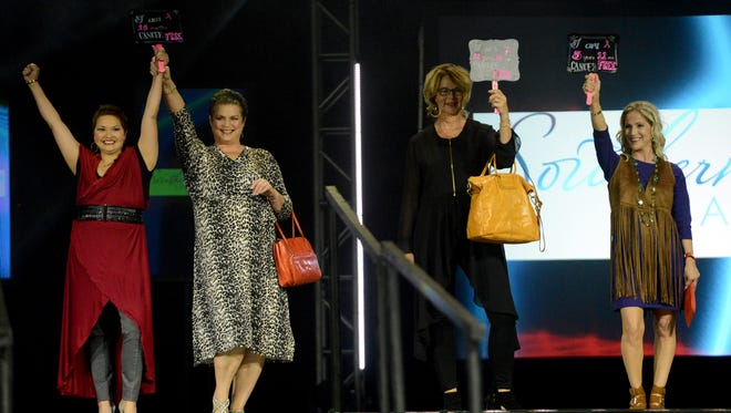 The 22nd annual American Cancer Society's Runway For A Cure was held Tuesday evening at the Carl Perkins Civic Center.
