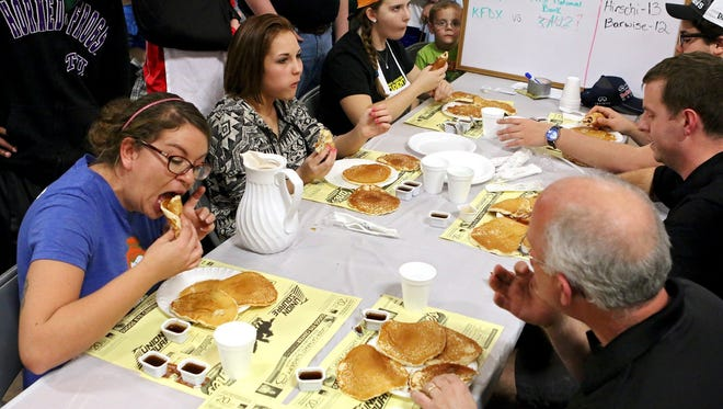 Get your fill of flapjacks Saturday at the annual Kiwanis Pancake Festival at the Bridwell Center.