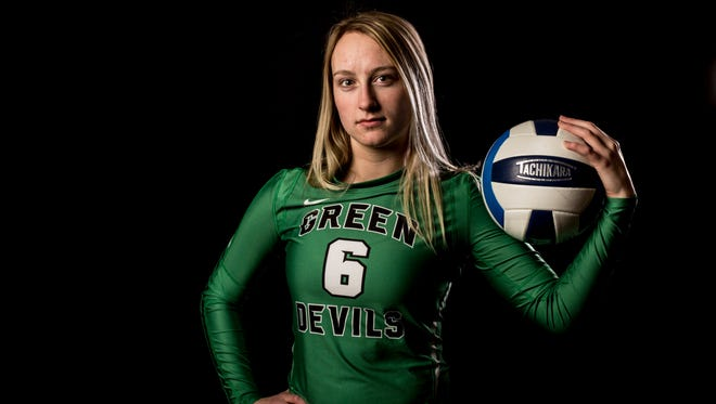 Brown City senior Alexia Mason is the Times Herald Volleyball Player of the Year.