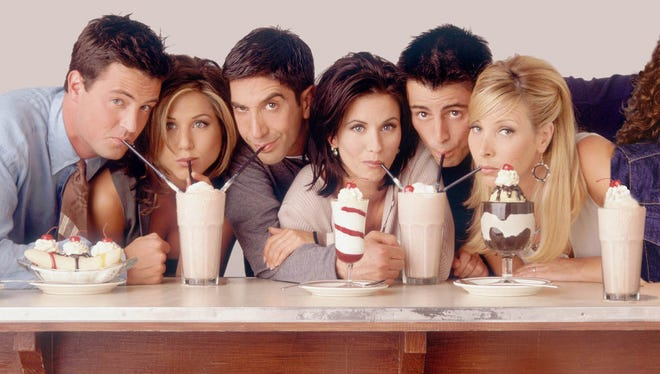 The 'Friends' cast.