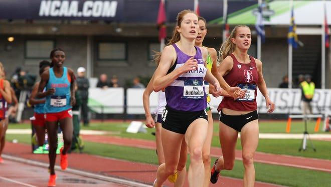 Furman distance runner Allie Buchalski finished runner-up in the 2018 NCAA Outdoor National Championship