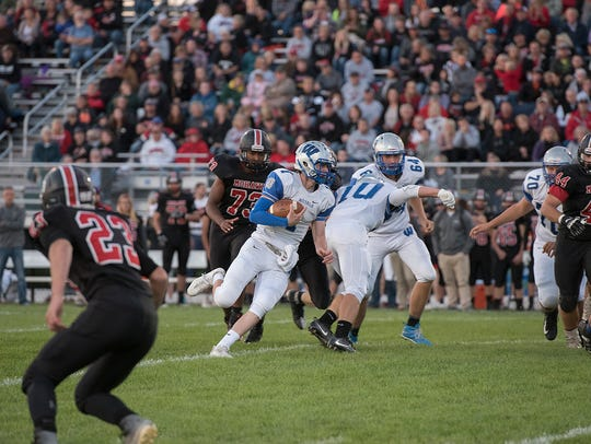 Wyatt Smith was a dual threat at quarterback for the Royals his senior year and will look to continue that in college.