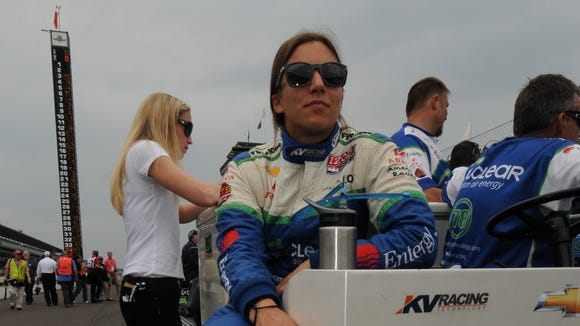 Simona de Silvestro was one of IndyCar's most popular drivers