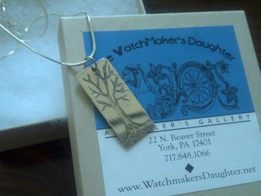 This was a necklace I won earlier this week after a drawing on Facebook.