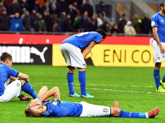 EPA ITALY SOCCER FIFA WORLD CUP 2018 QUALIFICATION SPO SOCCER ITA