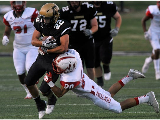 Abilene High School wide receiver Doak Holloway is
