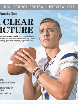 Cover of our High School Football Preview 2016.