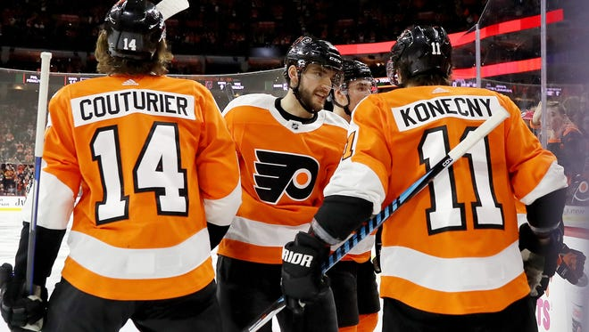 The Flyers' young players like Travis Konecny will be fun to watch in the playoffs, but they've got to get there first.
