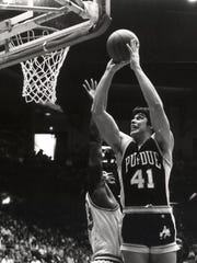 Jim Rowinski (41) went from walk-on to Big Ten Most Valuable Player in 1984.