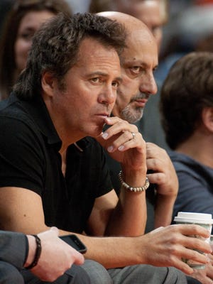 Pistons owner Tom Gores, shown at the Palace of Auburn Hills on Feb. 1, says the team is better than its record.