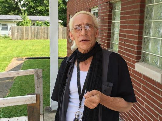 Levin at church