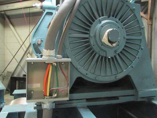 New motors were installed in the primary elevator system