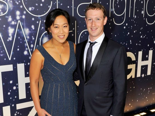 Breakthrough Prize Founders Priscilla Chan and Mark