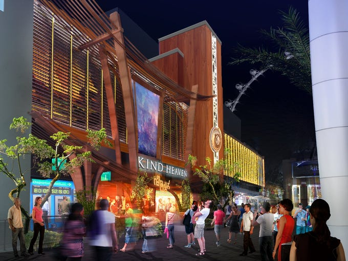 Kind Heaven will be located at the The Linq Promenade,