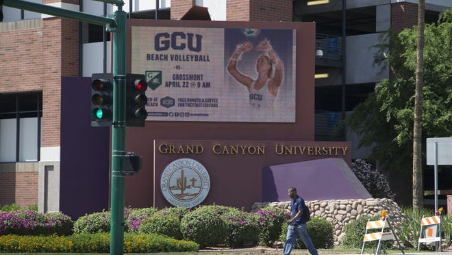 In 2006, 24 1st-time freshmen from California started at Grand Canyon University in Phoenix; by 2016, that number had jumped to 925.