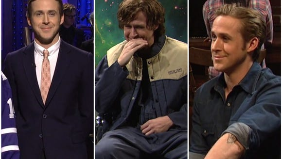 Ryan Gosling couldn't stop giggling on 'SNL'