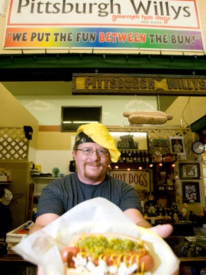Randy Walters is the owner of Pittsburgh Willy's located in the Merchant's Square, 1509 N. Arizona Ave., in Chandler.
